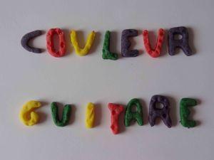 Ecole couleur guitare